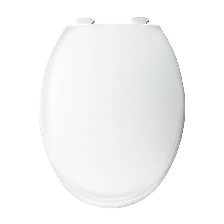 Church Seats 130ec000 Plastic Toilet Seat With Easy Clean