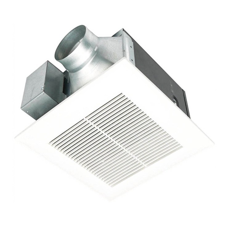 Panasonic Whisperwarm 110 Cfm Ceiling Exhaust Bath Fan: Panasonic FV-11VQ5 WhisperCeiling 110 CFM Ceiling Fan