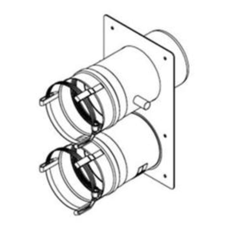 Burnham 102183 01 Vent Adapter