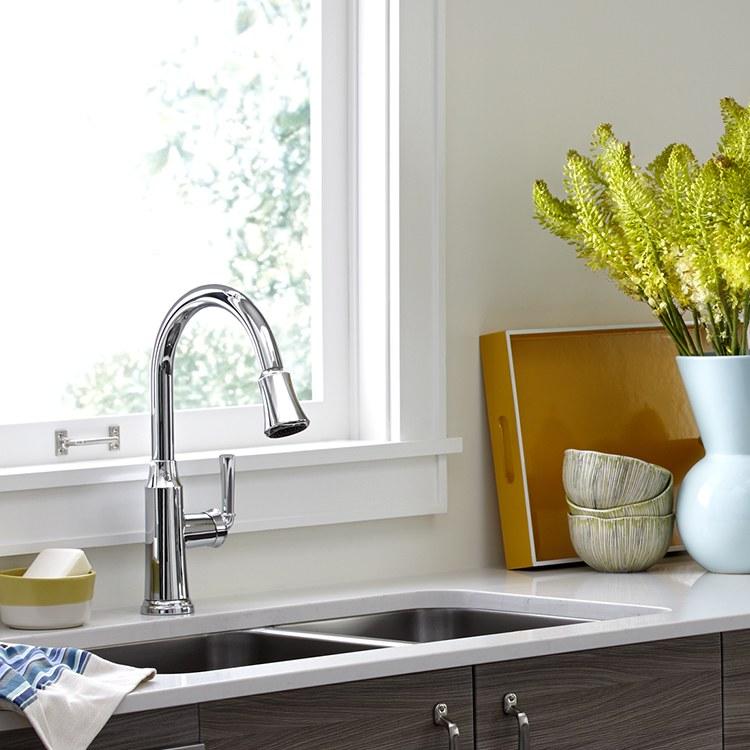 American Standard 4285 300 Kitchen Faucet F W Webb
