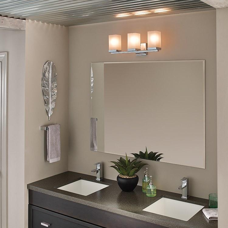 Moen Yb8863ch 90 Degree Chrome Vanity Light Bathroom Lighting: F.W. Webb Online Ordering