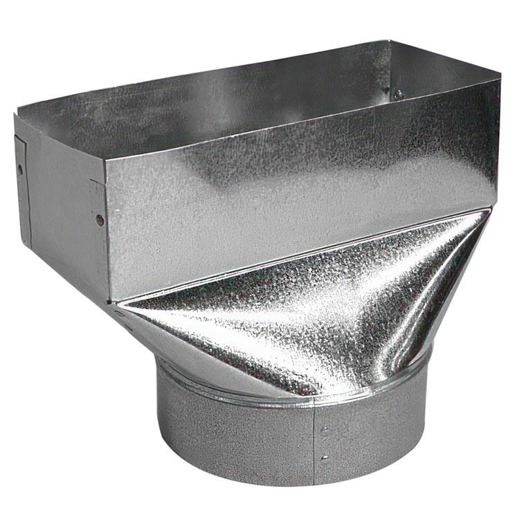 Northeast Metals 22-6X10X8 Duct Box | F W  Webb Online Ordering