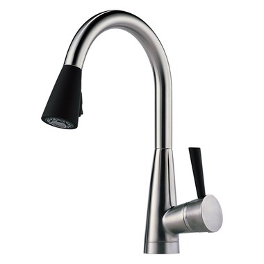 Kitchen Faucet Venuto With Soft Touch 1 Lever ADA Brilliance Stainless Pull  Down