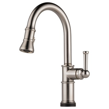 Kitchen Faucet Artesso With SmartTouch 1 Lever Brilliance Stainless Pull  Down