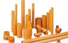 Orange CPVC Pipe & Fittings